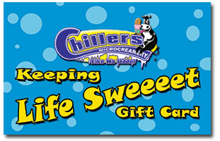 Chillers Gift Cards
